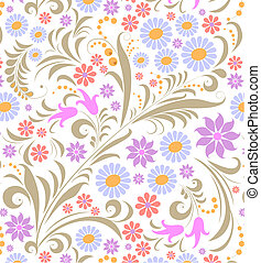 fundo, flor, branca, coloridos