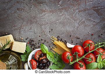 fundo, italiano alimento