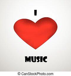 fundo, música