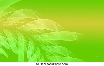 fundo, natureza, meio ambiente, sombra, conceitual, verde