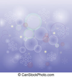 fundo, neve