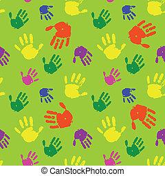 fundo, palmas, cor mãos