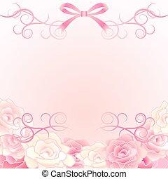 fundo, rosa