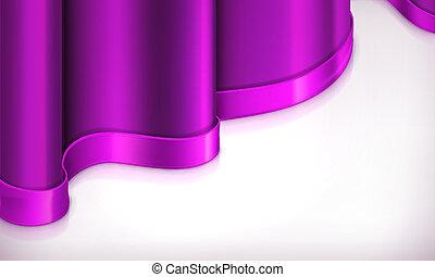 fundo, vetorial, violeta, convite