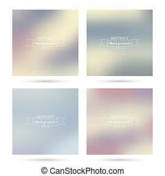 fundos, coloridos, abstratos, jogo, blurred.