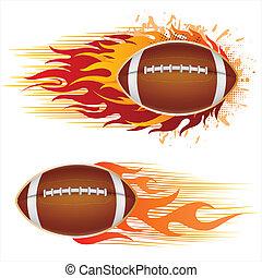 futebol, américa, chamas