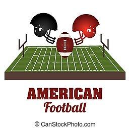 futebol, americano