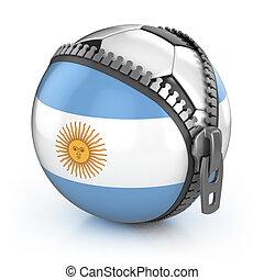 futebol, argentina, nação