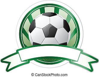 futebol, emblema
