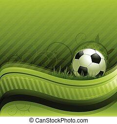 futebol, experiência verde