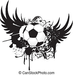 futebol, grunge