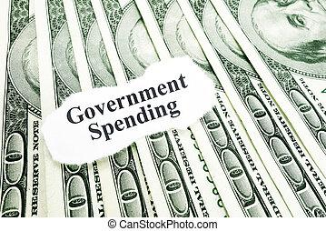 gastando, governo