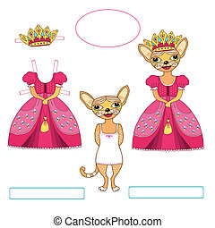 gatos, princesa