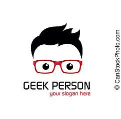 geek, person.