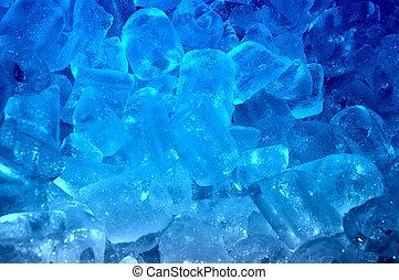 gelo azul, fundo