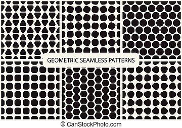 geomã©´ricas, patterns., seamless, cobrança