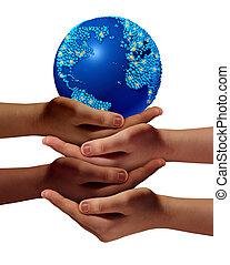 global, educação, comunidade