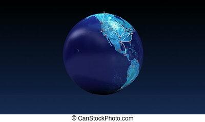 global, transporte, crescendo