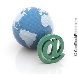 globo, email, sinal