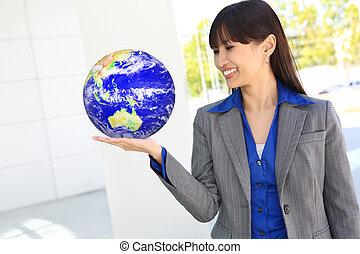 globo, negócio mulher