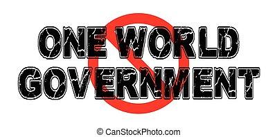 governo, proibição, mundo, um
