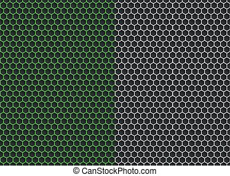 gráfico, padrão, abstratos, seamless, fundo, geomã©´ricas, hexágono