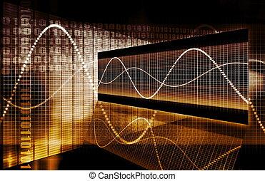gráfico, tech, finanças, spreadsheet