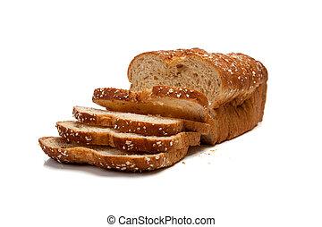 grão, forma pão, inteiro