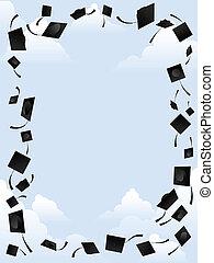 graduação, borda