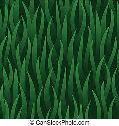 grama campo, verde, seamless, fundo