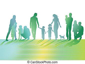 gramado, famílias