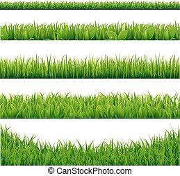 grande, jogo, capim, verde