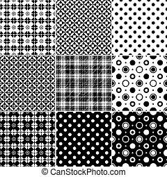 grande, seamless, cobrança, padrões