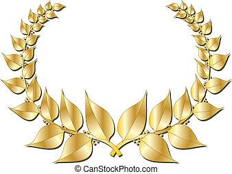 grinalda, ouro