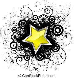 grunge, estrela