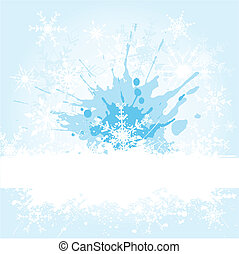 grunge, snowflake