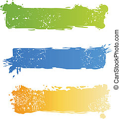 grungy, jogo, bandeira, multicolored