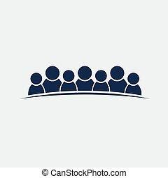 grupo, pessoas, pessoas, trabalho equipe, 7, amizade, ou