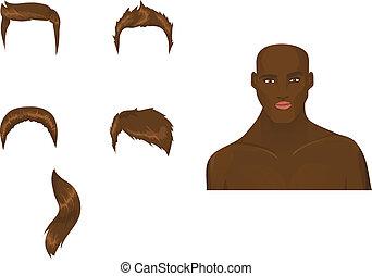 haircuts, jogo, macho