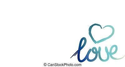 handlettering, amor, ilustração