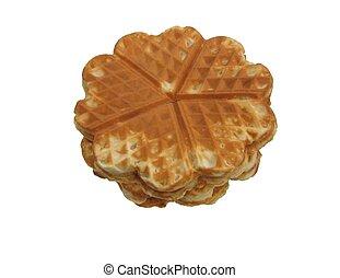 heartshaped, waffles