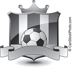 heraldic, futebol, emblema
