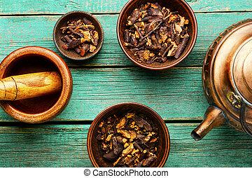 herbário, medicinal, medicina, ervas
