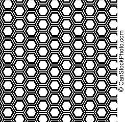 hexágono, abstratos, geomã©´ricas, seamless, experiência., pattern.