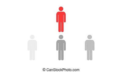 hierarquia, pessoas, hd