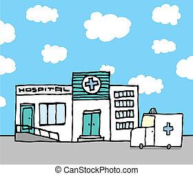 hospitalar, ambulância