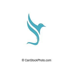 hummingbird, logotipo, modelo