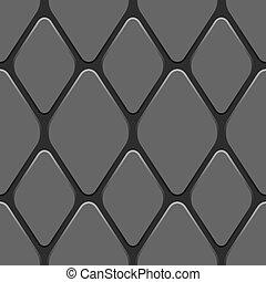 illustration., padrão, seamless, vetorial, caminhão, pneumático