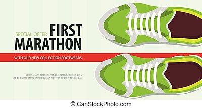 illustration., shoes., collection., vetorial, sneakers, novo, desporto
