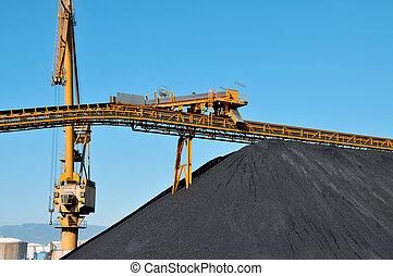 indústria carvão